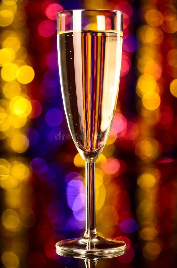 Шампань на рождественской вечеринке стоковые фото