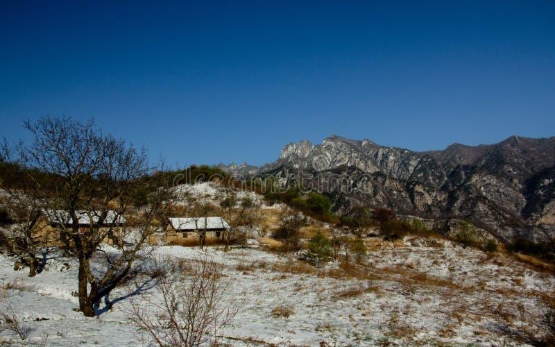 Шангри-Ла или Аркадия в горах Qinling стоковые фотографии rf