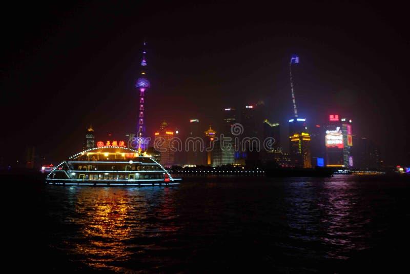 Шанхай, бунд стоковая фотография