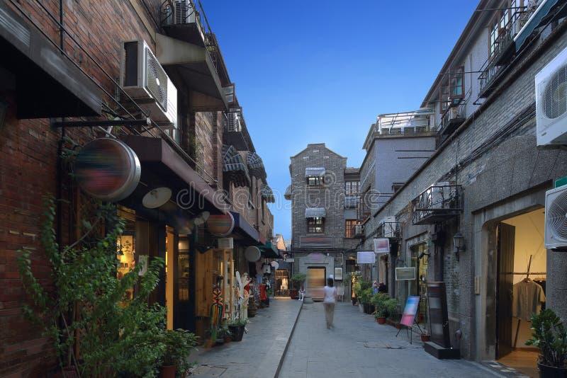Шанхай Tianzifang стоковое фото