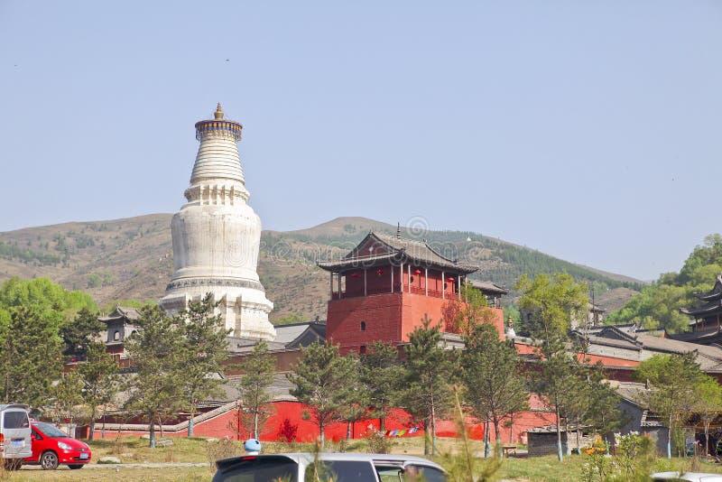 Шаньси Wutai Китая стоковые фото