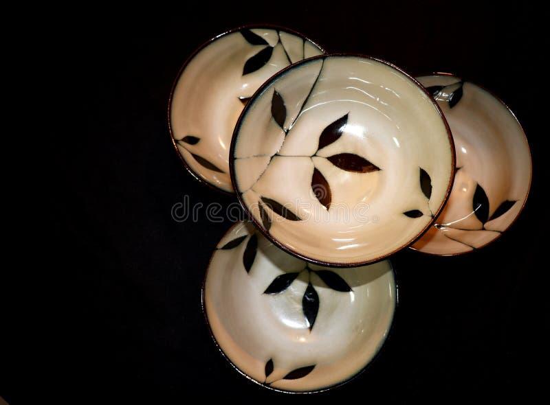 4 шара штабелированного вверх стоковое фото rf