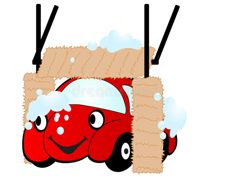 шарж автомобиля бесплатная иллюстрация
