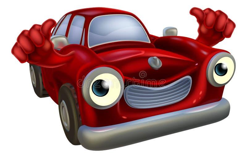 Шарж автомобиля иллюстрация штока
