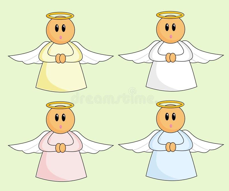 шарж ангелов бесплатная иллюстрация