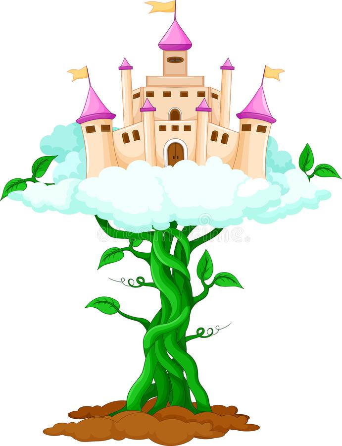 Шарж дворца красоты в небе