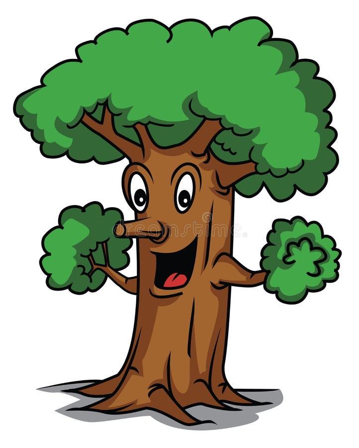 Рисунки смешных деревьев, именем
