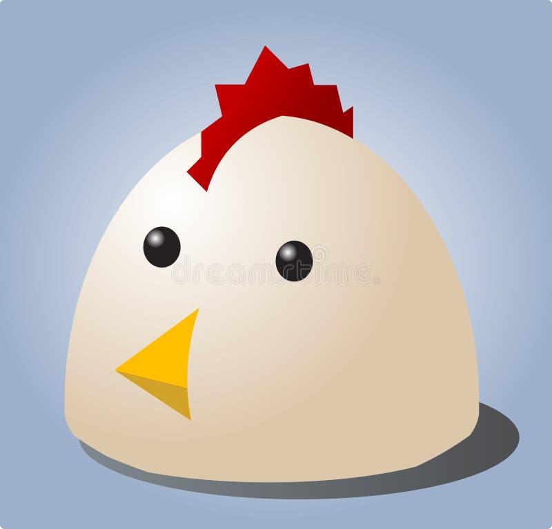 Шарж цыпленка Стоковая Фотография