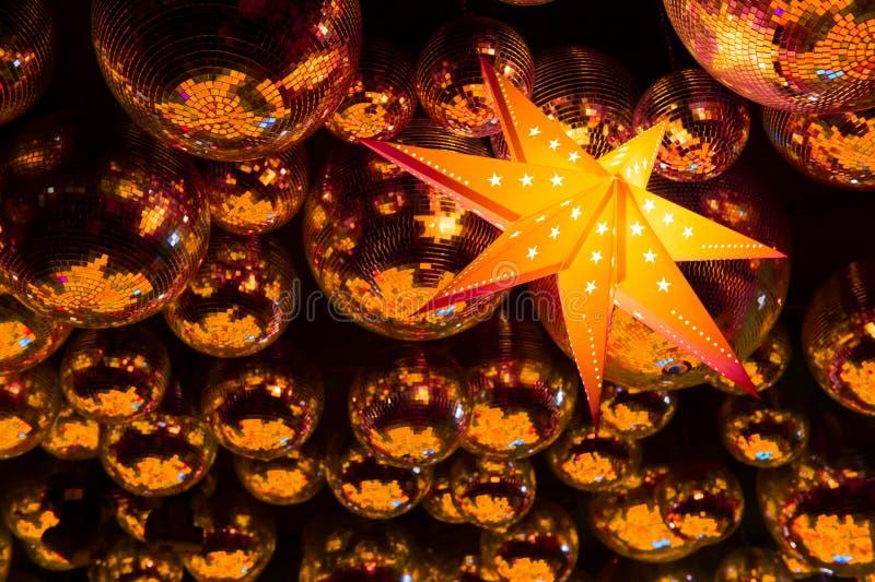 Шарики диско ночного клуба стоковое фото