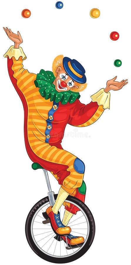 хочу жонглирующий клоун на колесе картинка артисту только