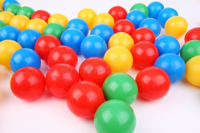 шарики пластичные стоковые изображения rf