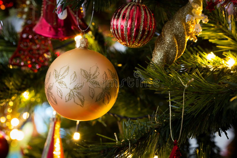 Шарики рождества стоковые изображения rf