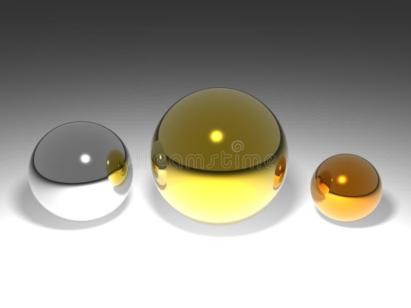 шарики 3d бесплатная иллюстрация