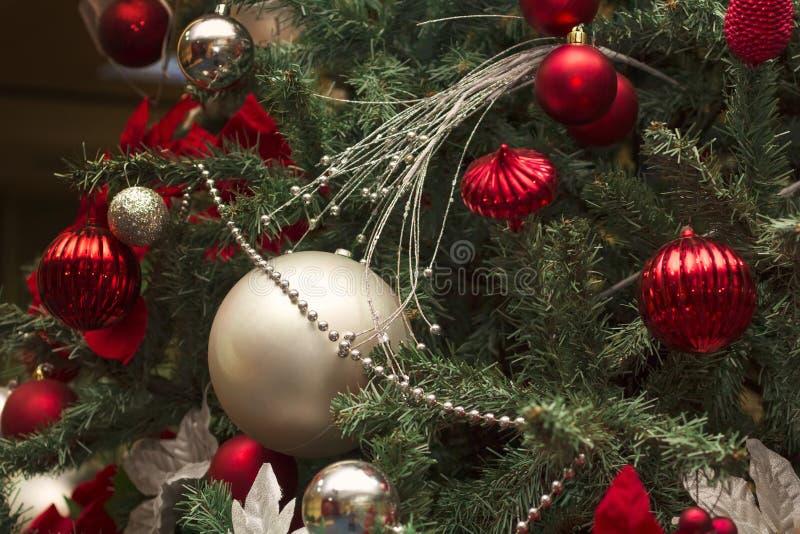 Шарики Christmass стоковая фотография