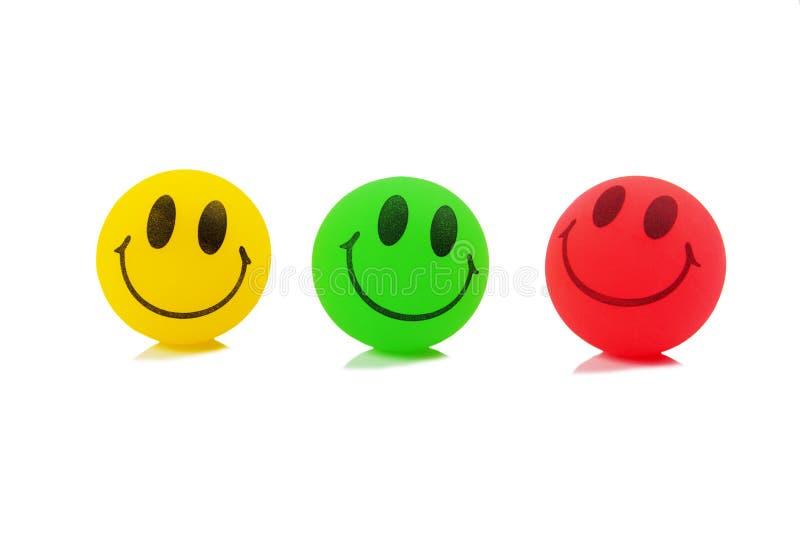 Шарики Smiley стоковые изображения rf