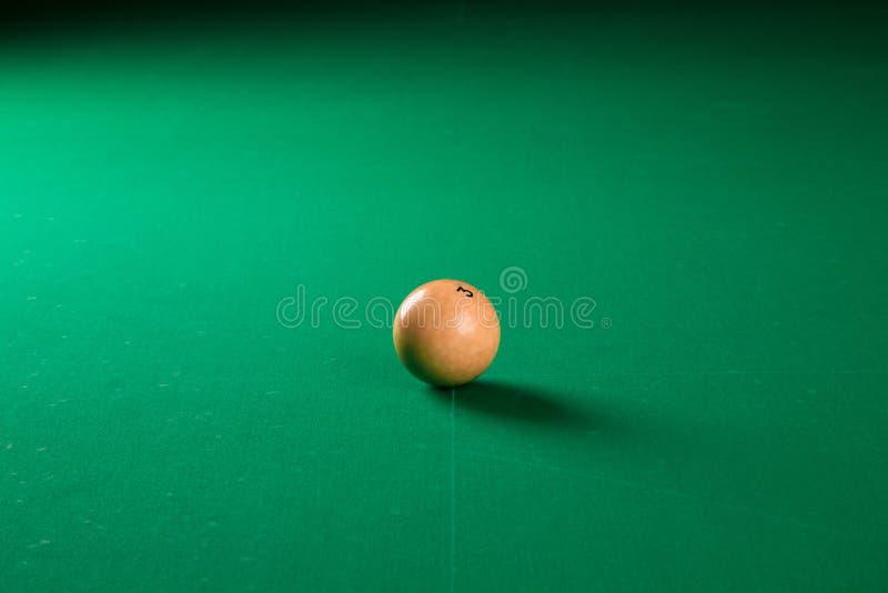 Шарик биллиарда стоковая фотография