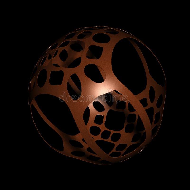 шарик высекая древесину китайского типа стоковое фото rf