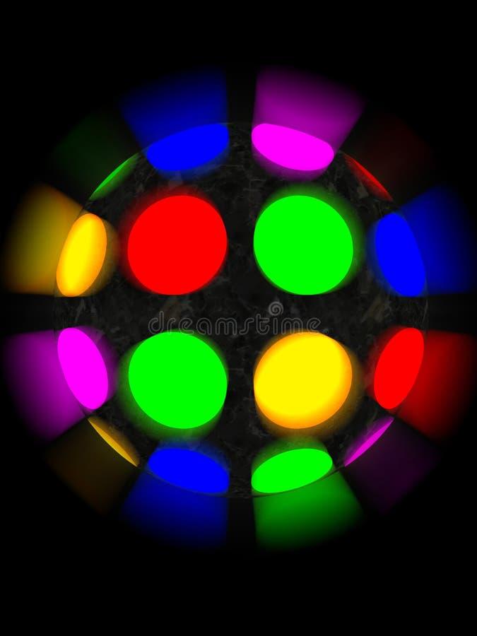 Шарик диско бесплатная иллюстрация