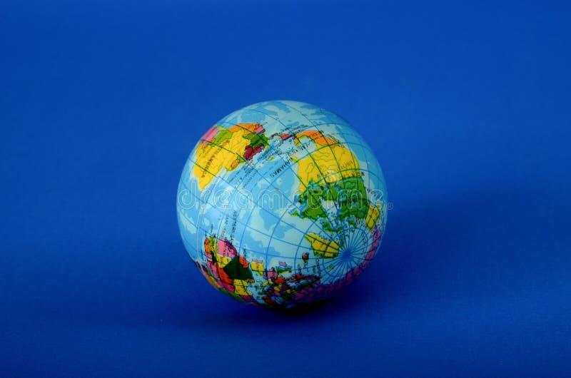 Шарик игрушки Globus стоковая фотография rf