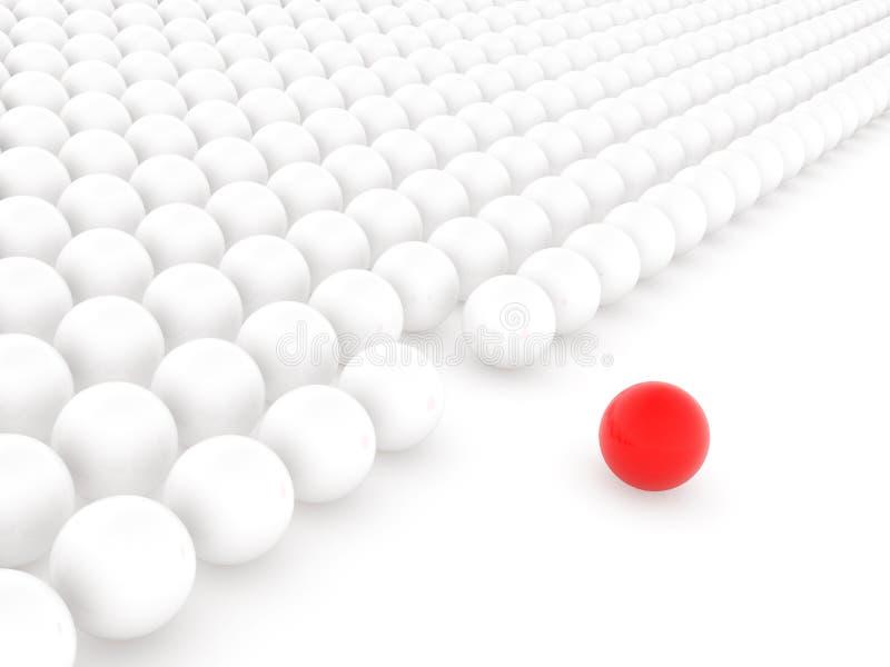 шарик различный иллюстрация вектора