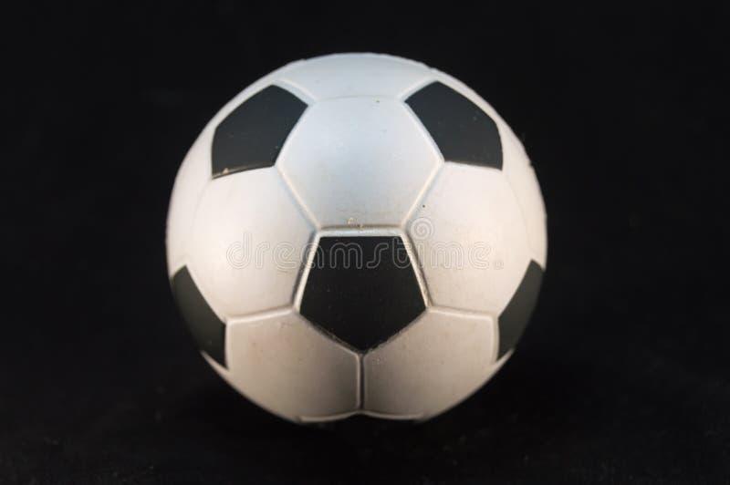 Шарик футбола белизны и черноты стоковая фотография