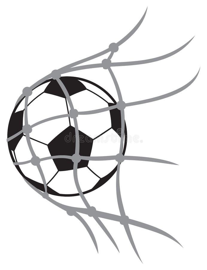 Шарик футбола вектора бесплатная иллюстрация