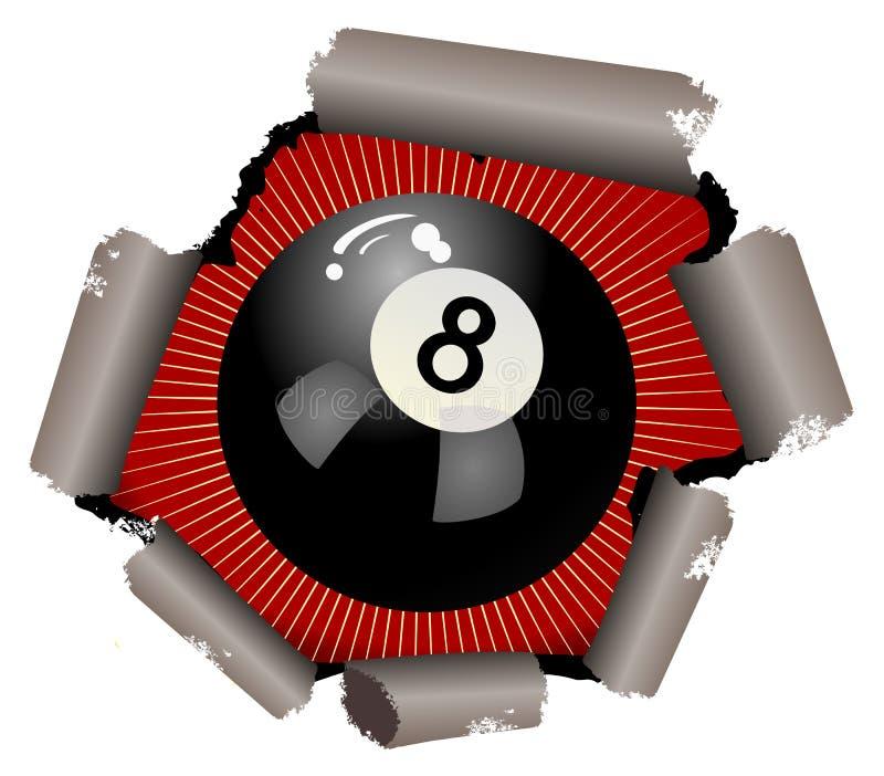 шарик 8 иллюстрация штока