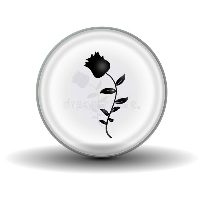 шарик cystal стоковые фотографии rf