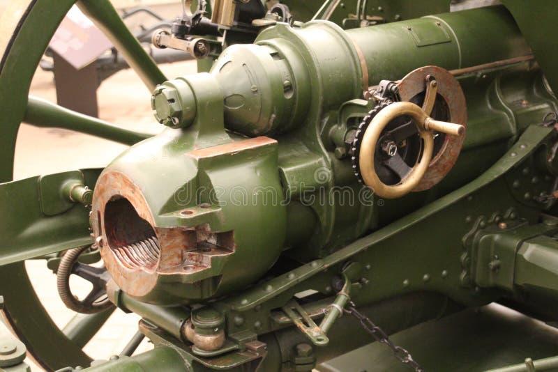 Шаровар артиллерии стоковая фотография rf