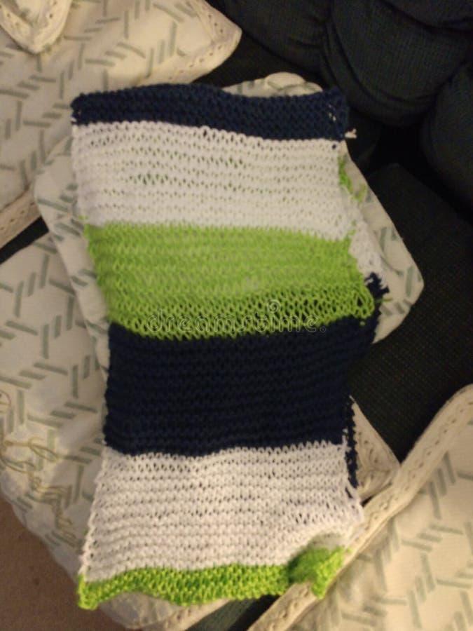 Шарф Knit стоковая фотография rf