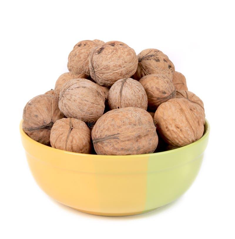 Шар вполне с грецкими орехами. стоковая фотография rf