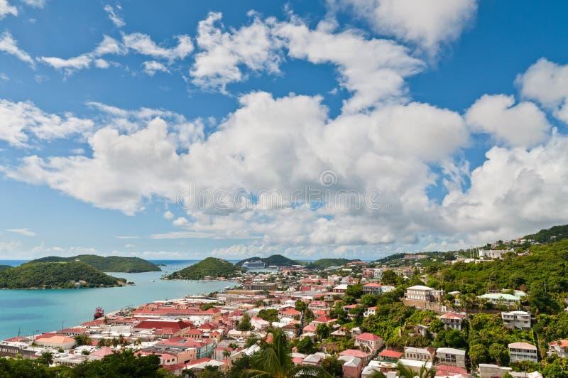 Шарлотта Amalie, St. Thomas, u S V I стоковые фотографии rf