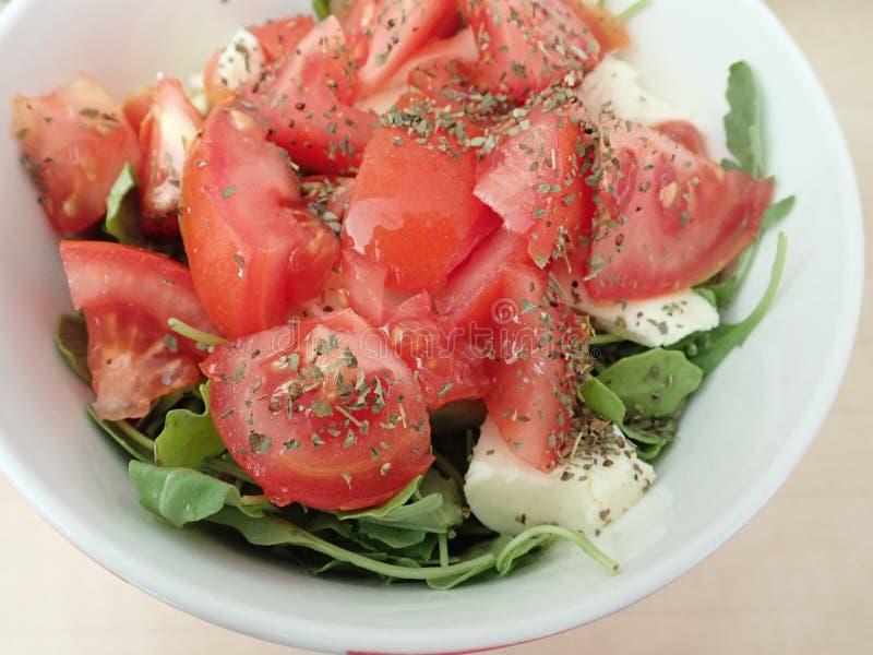Шар салата свежего овоща стоковое изображение rf