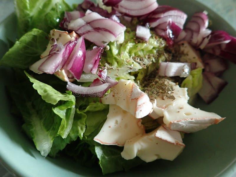 Шар салата свежего овоща стоковые изображения