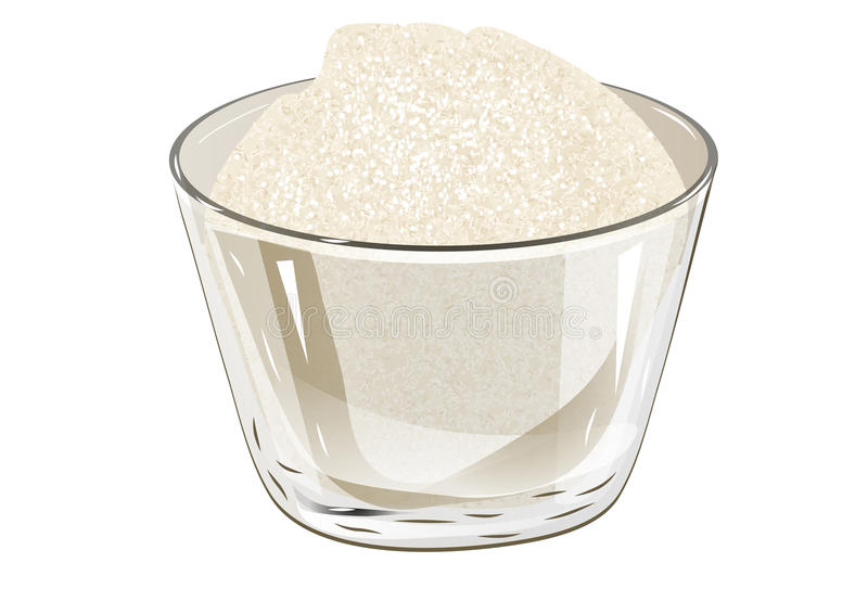 Шар сахара иллюстрация вектора