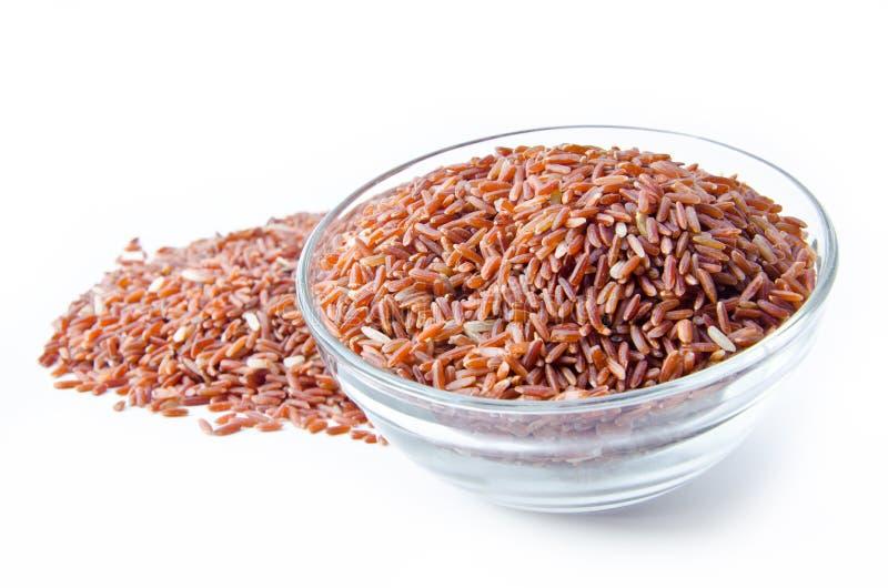 Шар сырцового коричневого риса стоковые изображения rf