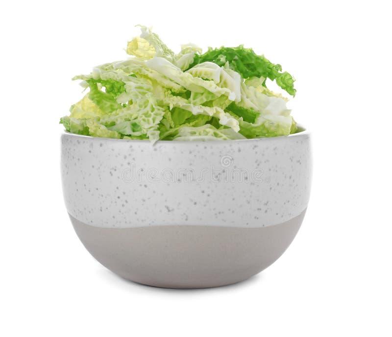 Шар с shredded капустой савойя стоковые фото
