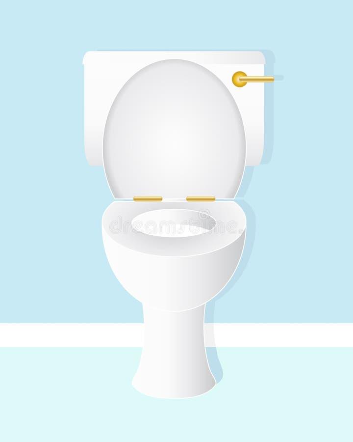 Шар туалета иллюстрация штока