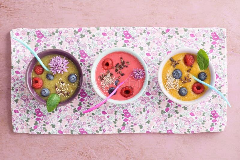 Шар smoothie поленики стоковая фотография rf
