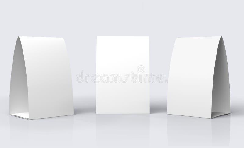 Шатер бумажной таблицы бесплатная иллюстрация