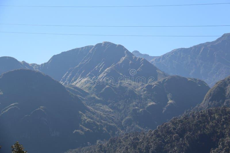 Шатер в гористых местностях стоковое фото