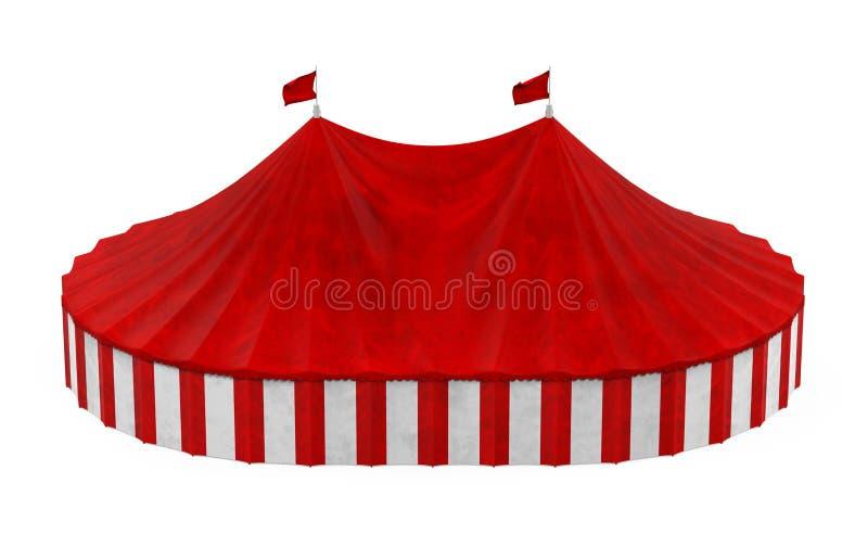 Шатер цирка изолировал иллюстрация штока