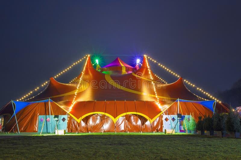 шатер цирка цветастый стоковая фотография rf