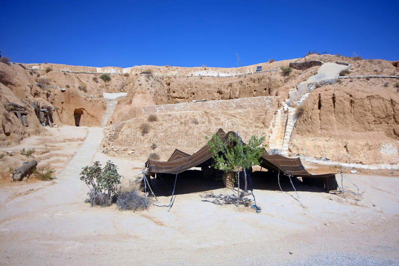 Шатер Berber стоковые изображения
