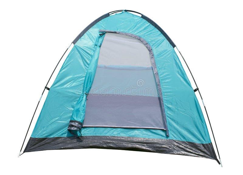 Шатер Monodome, располагаясь лагерем шатер для человека 2 на белой предпосылке стоковые фото