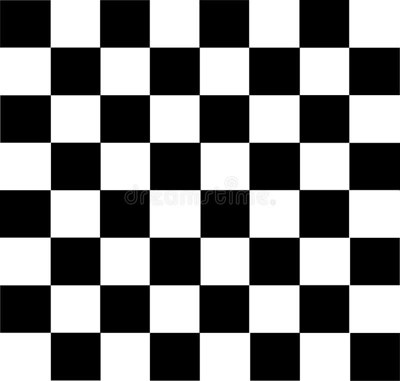 Шахматная доска вектора современная иллюстрация вектора