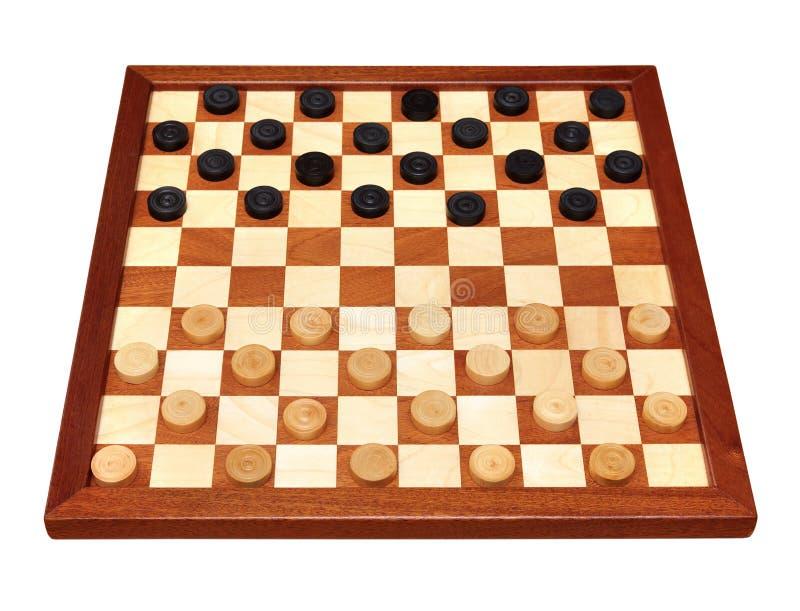 Шахматная доска при размеченные контролеры стоковые изображения rf