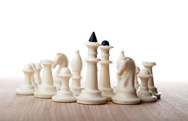 Шахматные фигуры стоковое фото