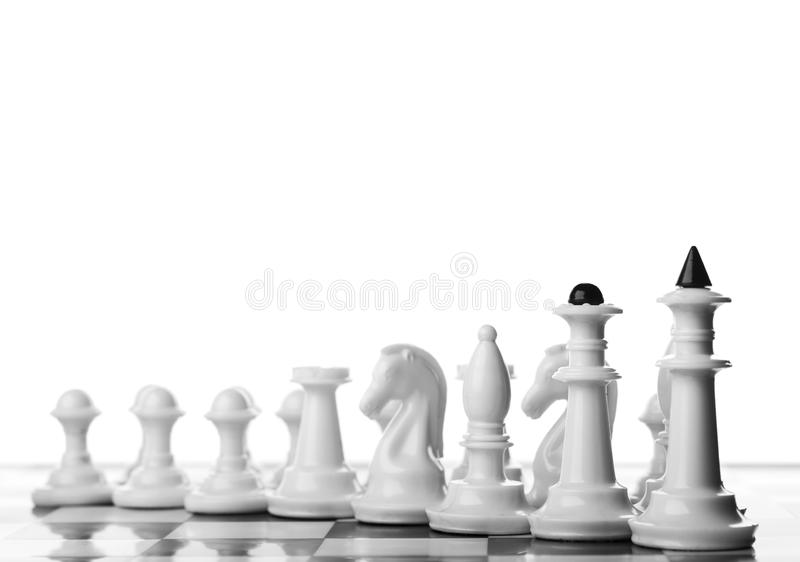 Шахматные фигуры стоковые изображения