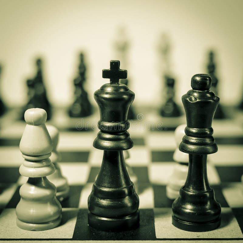 Шахматы стоковые фотографии rf